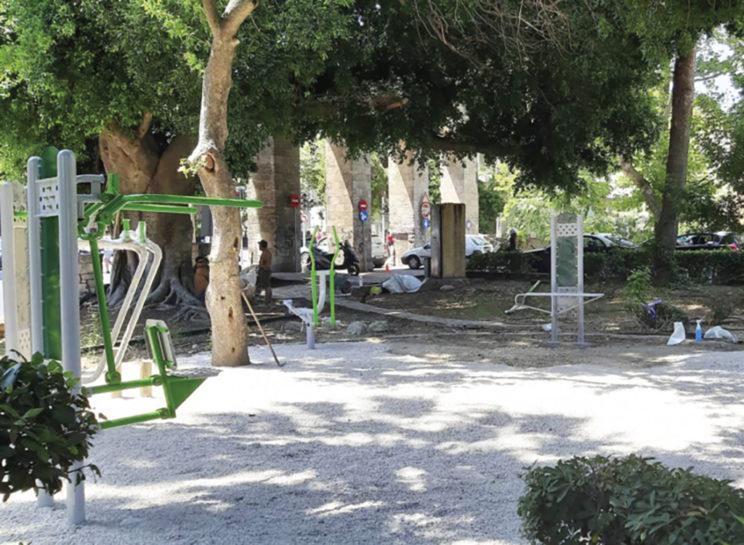 Παρεμβάσεις – πυροτεχνήματα στο πάρκο του «Θέρμαι» - Δημοκρατική της Ρόδου